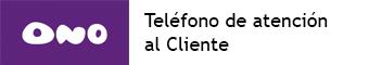 telefono atencion al cliente Ono
